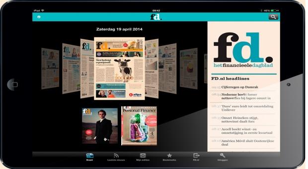 Het FD lanceert vernieuwde e-paper