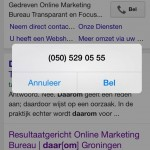 oproepextensies Google Adwords