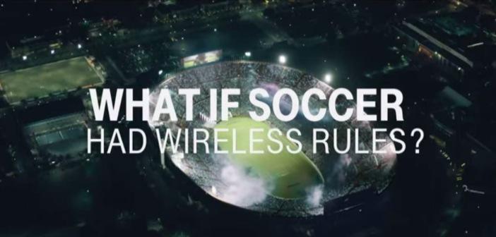 Shakira verandert de regels van het WK in T-Mobile Commercial