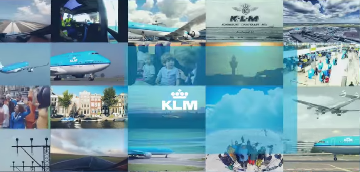 KLM is 95 jaar en viert dit met feel-good commercial