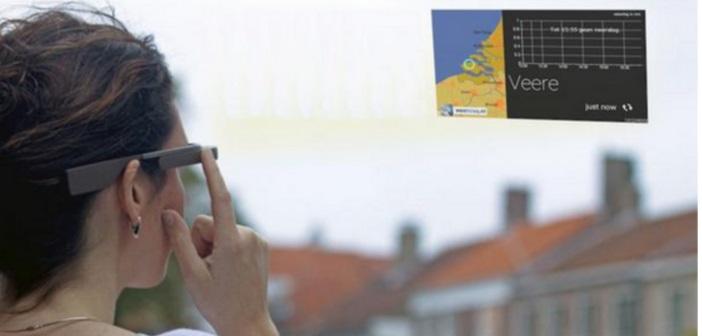 Weerslag introduceert eerste weer-app voor Google Glass