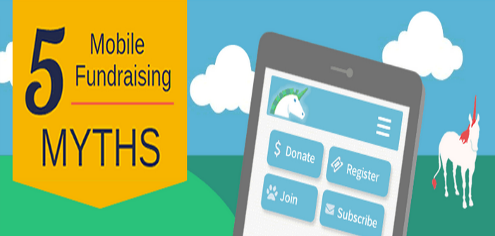 De 5 mythes van mobile fundraising