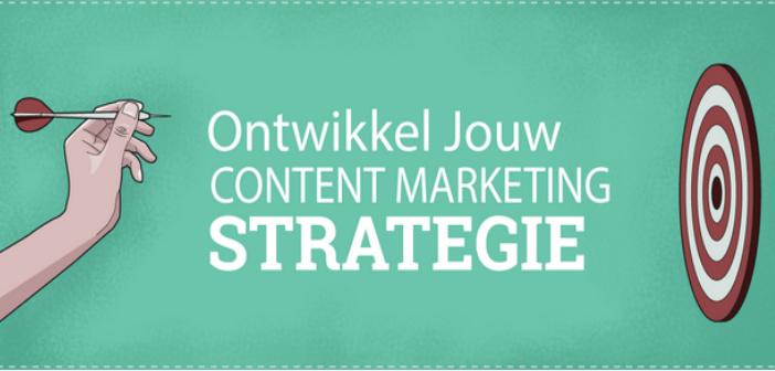 Alles wat je wilt weten over de 8 stappen van een contentmarketing strategie. Infographic.