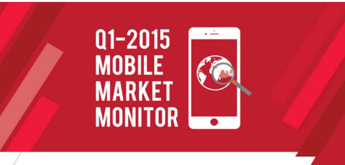 de q1 2015 mobile markt monitor apple snelste groeier. Black Bedroom Furniture Sets. Home Design Ideas