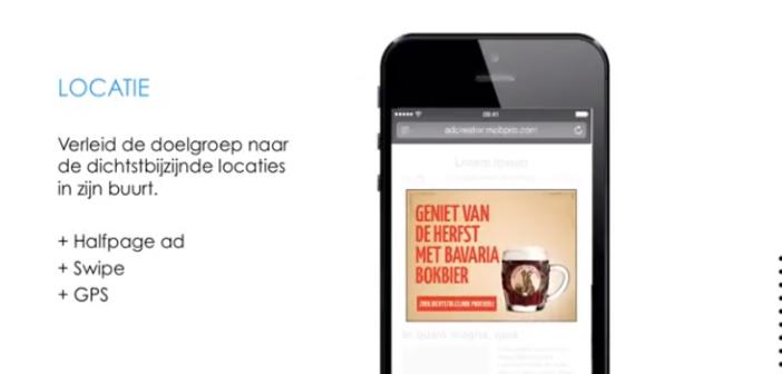 Location based targeting op mobiel speelt sleutelrol in Bavaria campagne