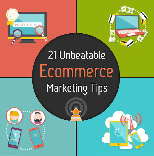 21 E-Commerce marketing tips die 2016 tot een succes maken. Infographic