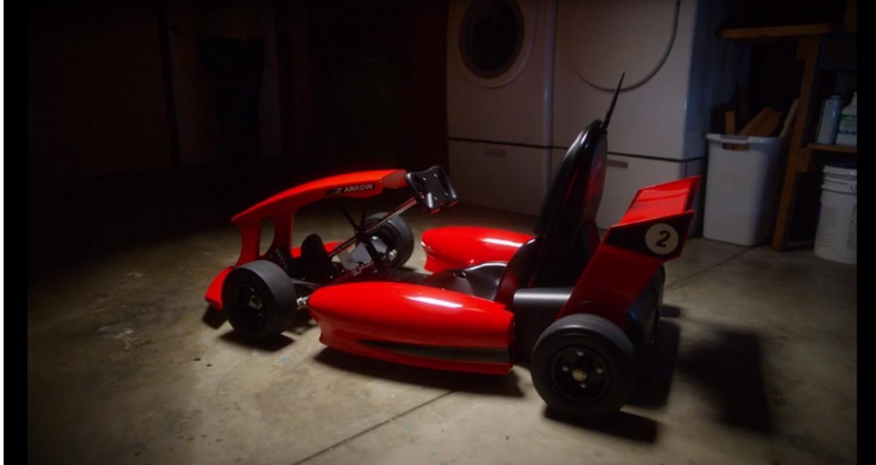 Electrische race-autootje Smart-Kart met GPS en Wi-Fi is het nieuwe speelgoed