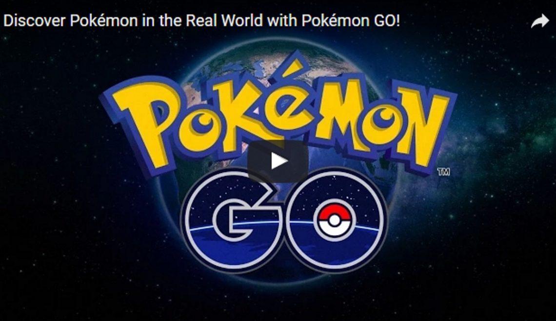 Pokemon trailer, voor degene die het augmented reality spel nog niet spelen