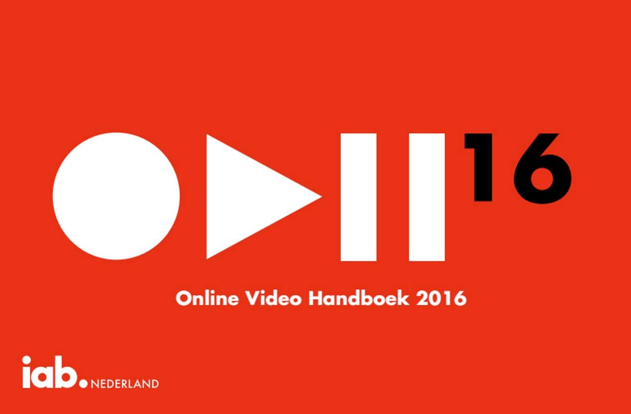 IAB Nederland publiceert Online Video Handboek 2016