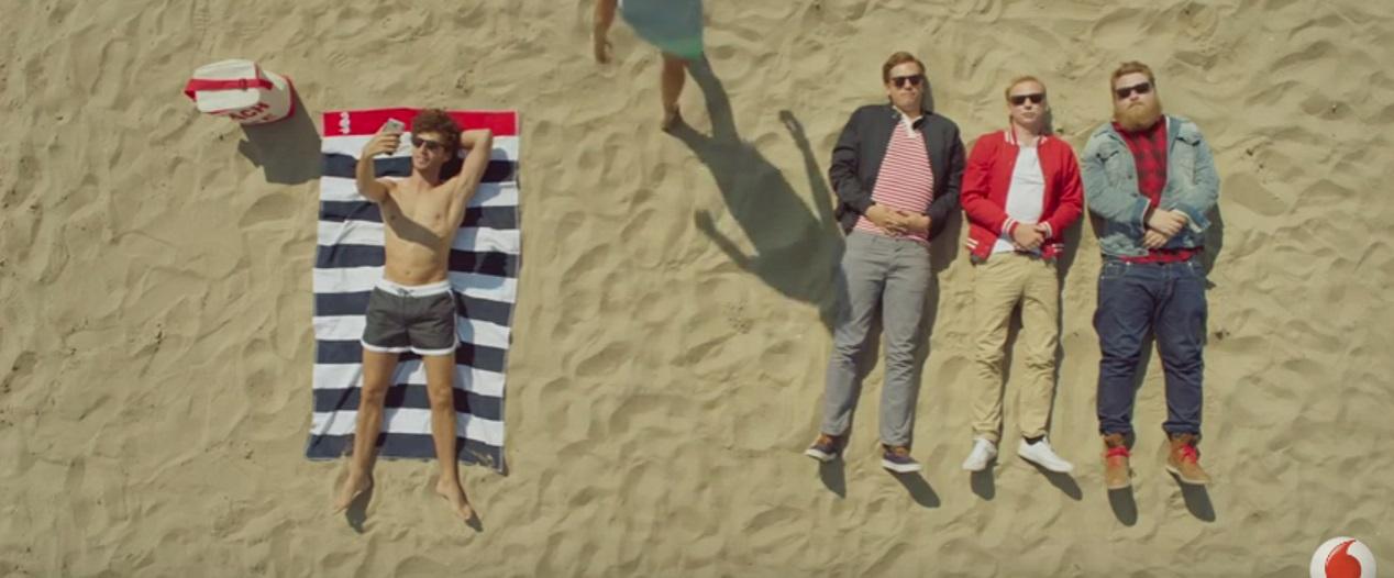 Vincent is verliefd in nieuwe Vodafone commercial