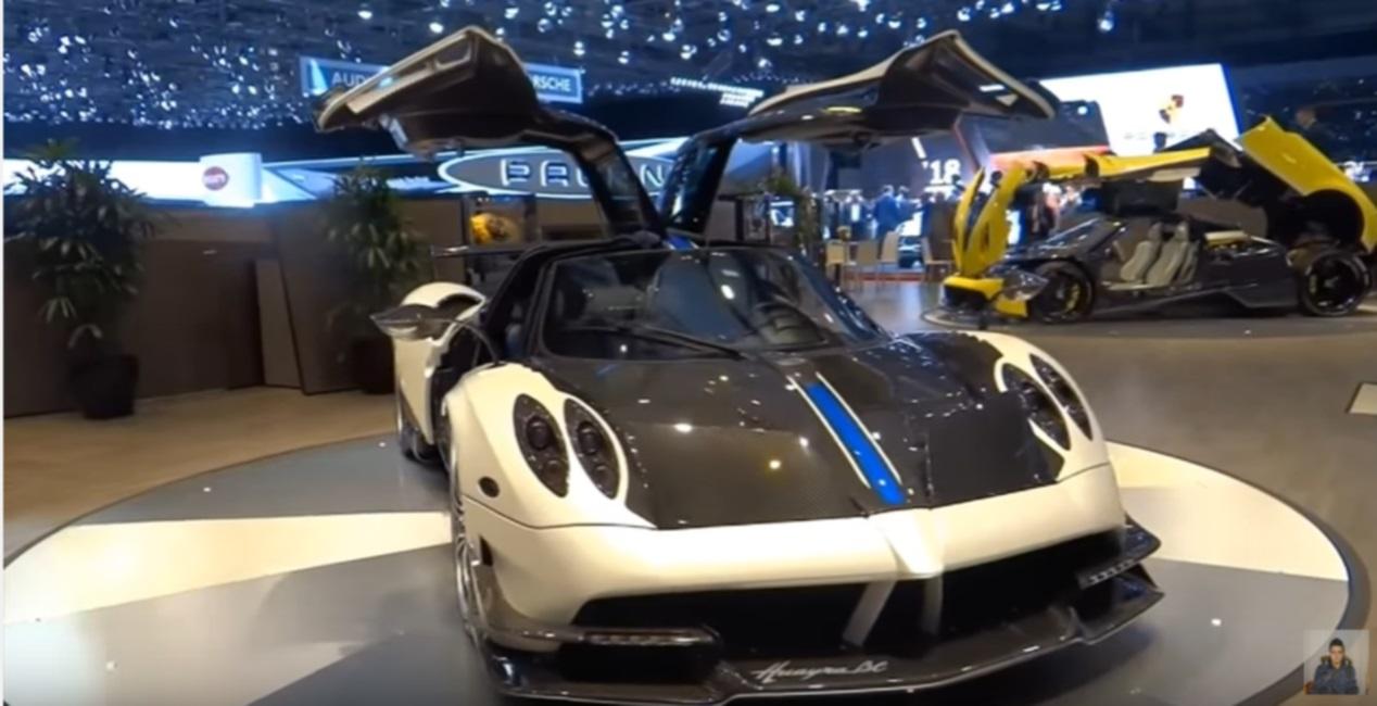 De top-10 duurste bizar mooie auto's van 2017