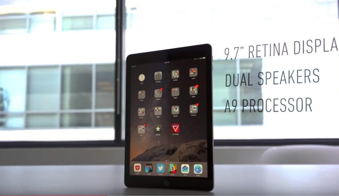 Nieuwe iPad 9.7 is de ideale tablet voor gaming en Netflix. Review.
