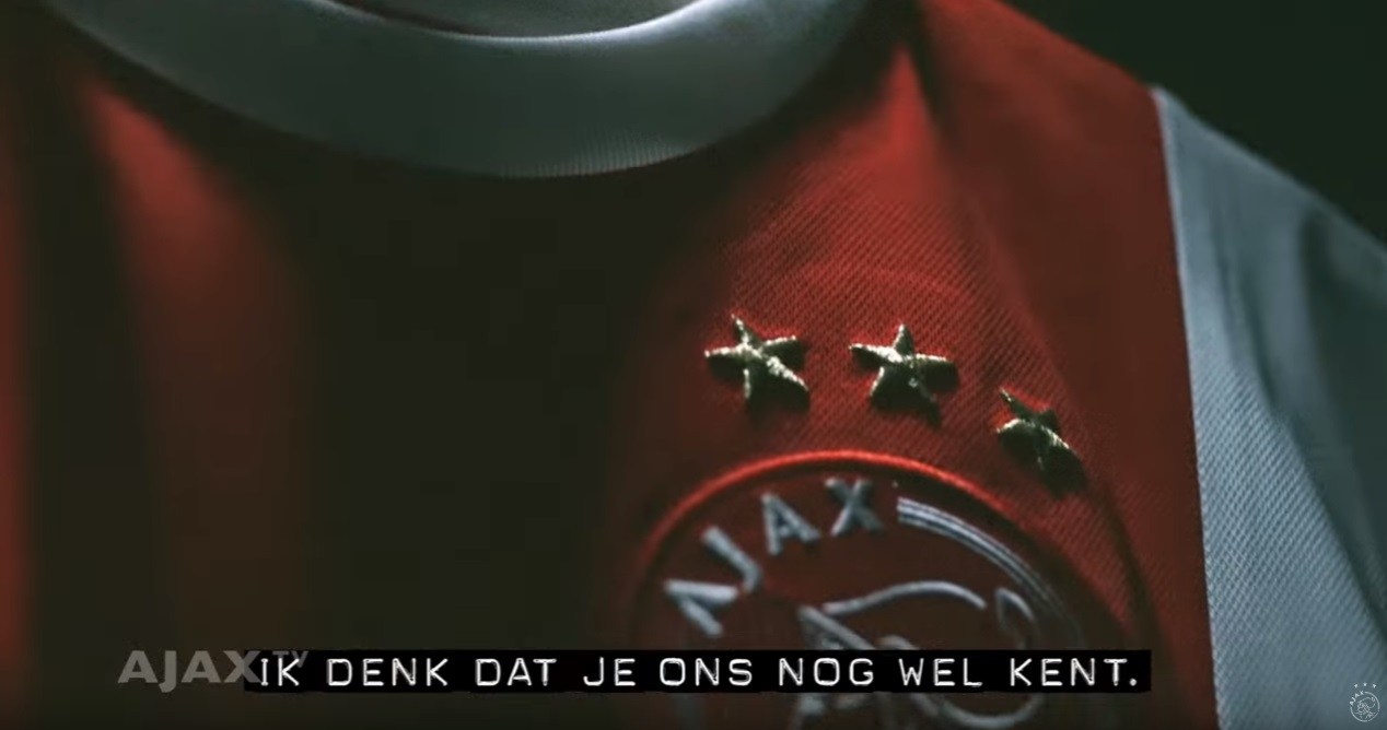 Imposante Ajax-promo 'Dear Europe; we are back' gaat volop viraal op sociale media