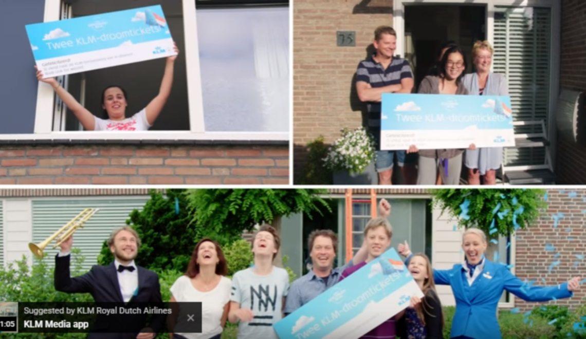 Viral Video; KLM verrast geslaagde scholieren met vliegtickets