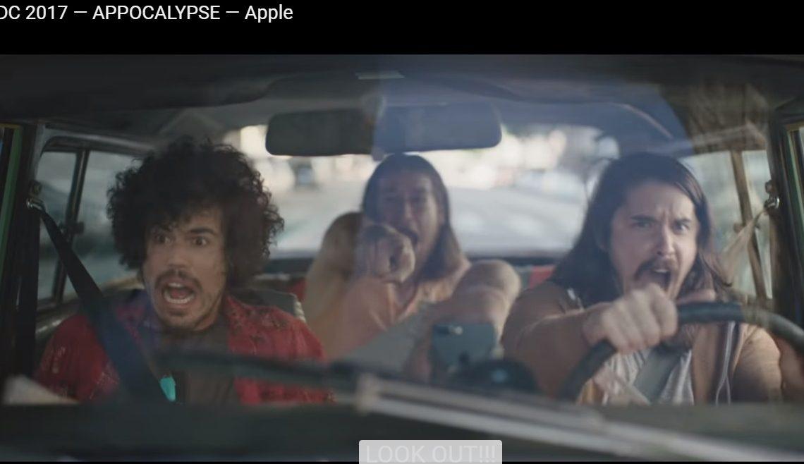 Apple laat ons lachen om viral video waarin alle apps wegvallen