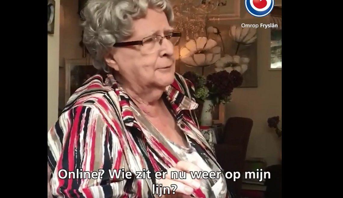 Wat precies een jaar geleden viraal ging ;'Beppe Is Klear Mei Dat Appen'