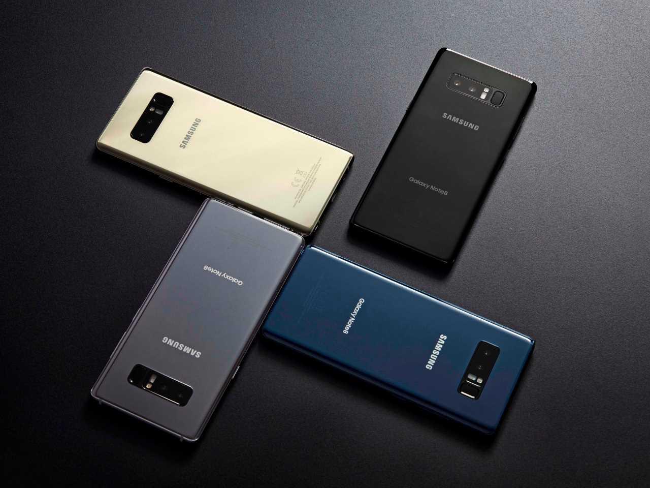 Alle feiten over de Samsung Galaxy Note 8 op een rij