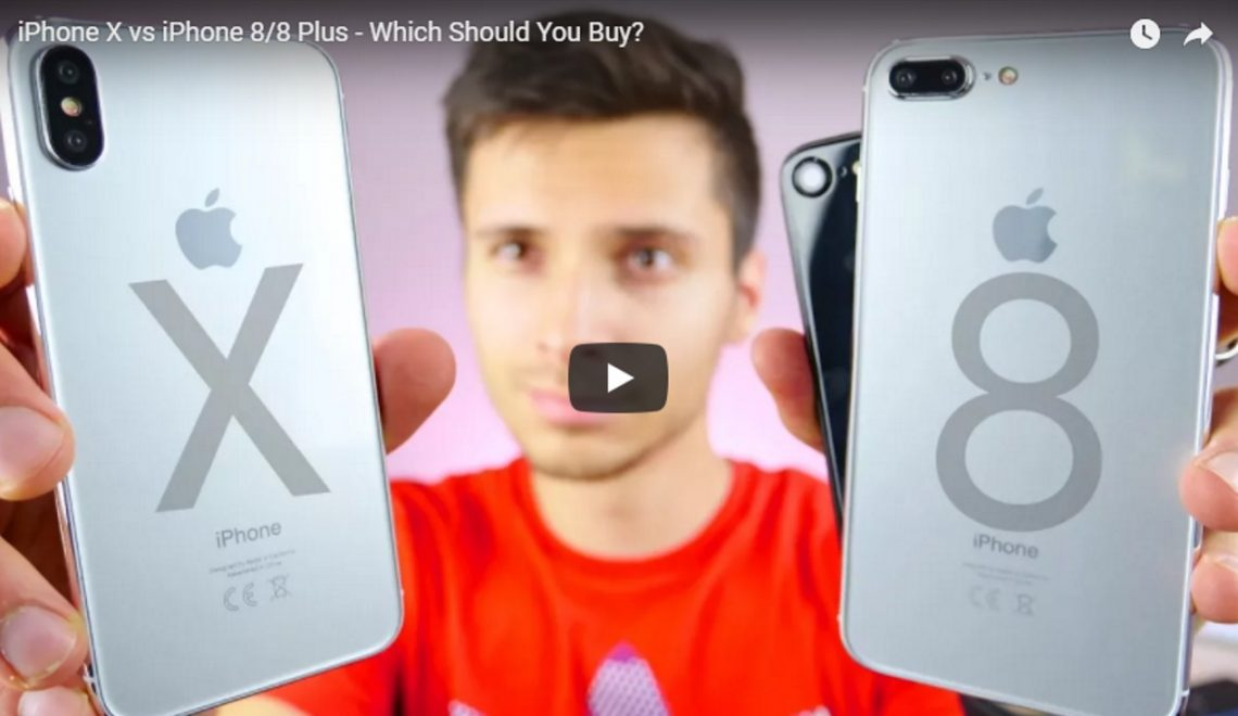 iPhone X vs iPhone 8 of iPhone 8 Plus. Welke moet ik kopen? Video.