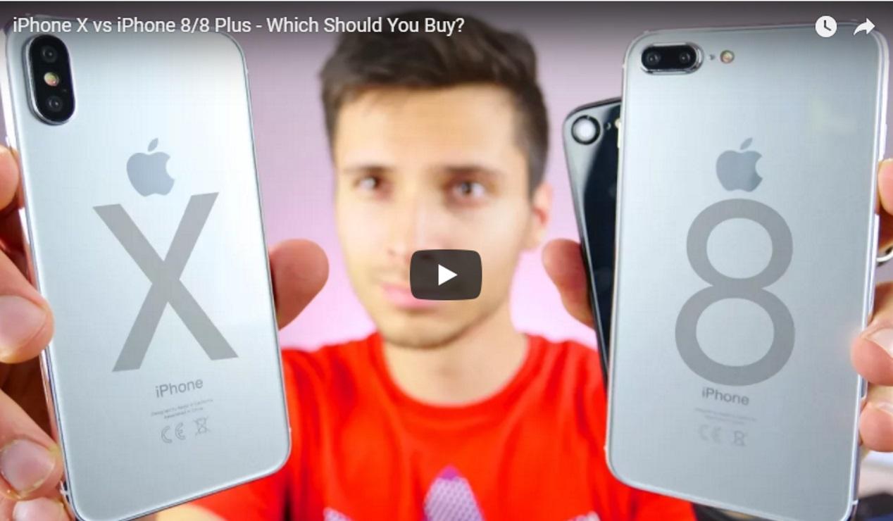 iPhone X vs iPhone 8 of iPhone 8 Plus. Welke moet ik kopen? Video.