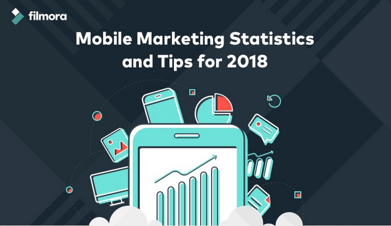 Mobile Marketing statistieken en tips voor 2018. Infographic
