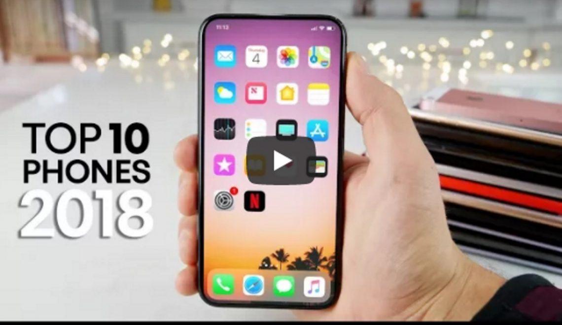 In 10 minuten de 10 beste smartphones van 2018