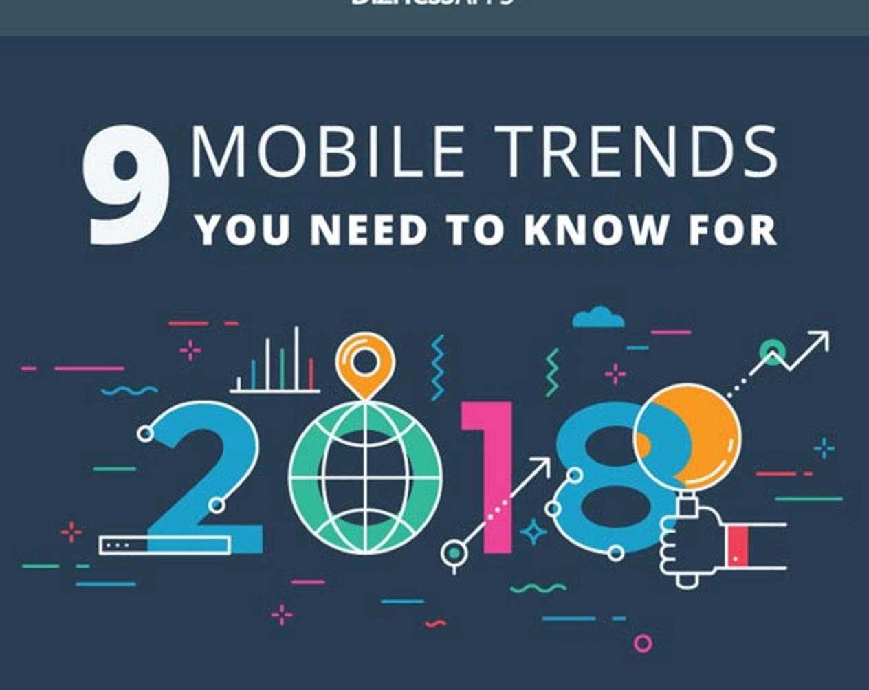 9 mobile trends waar je als marketeer echt niet om heen kan. Infographic