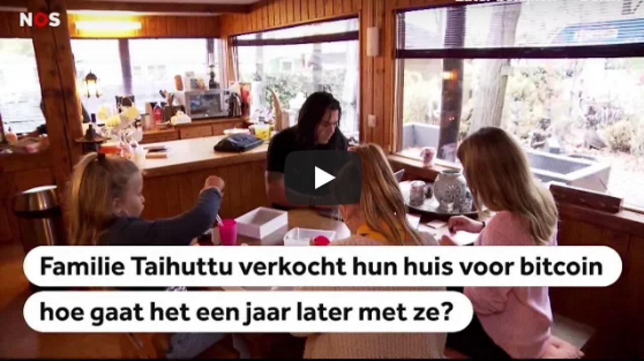 Familie Taihuttu verkocht huis voor bitcoin, hoe staan ze er eind 2018 voor?