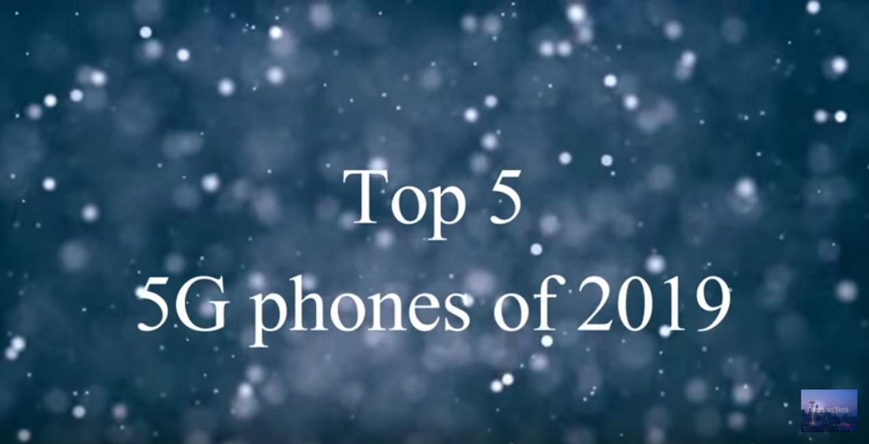 Top-5 smartphones in 2019 met 5G