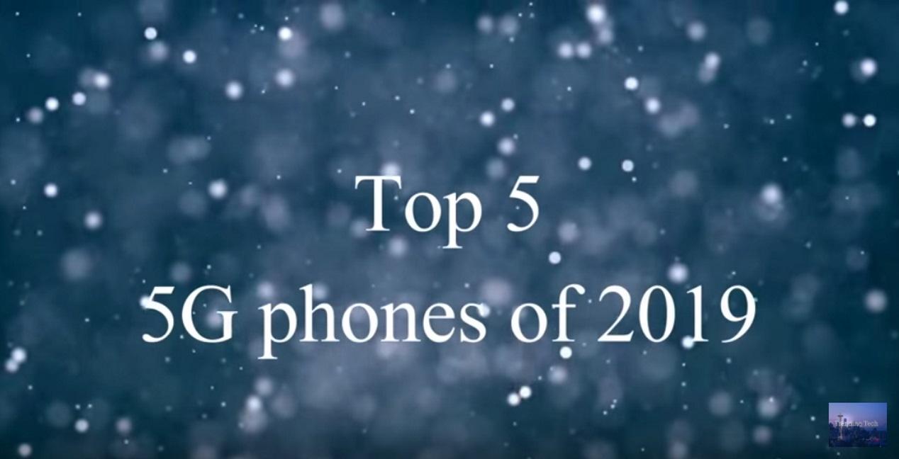 Top-5 smartphones in 2019 met 5G