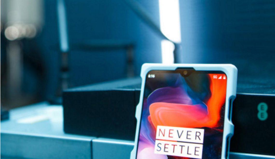 OnePlus zal als eerste een 5G smartphone op de markt brengen in Europa in 2019