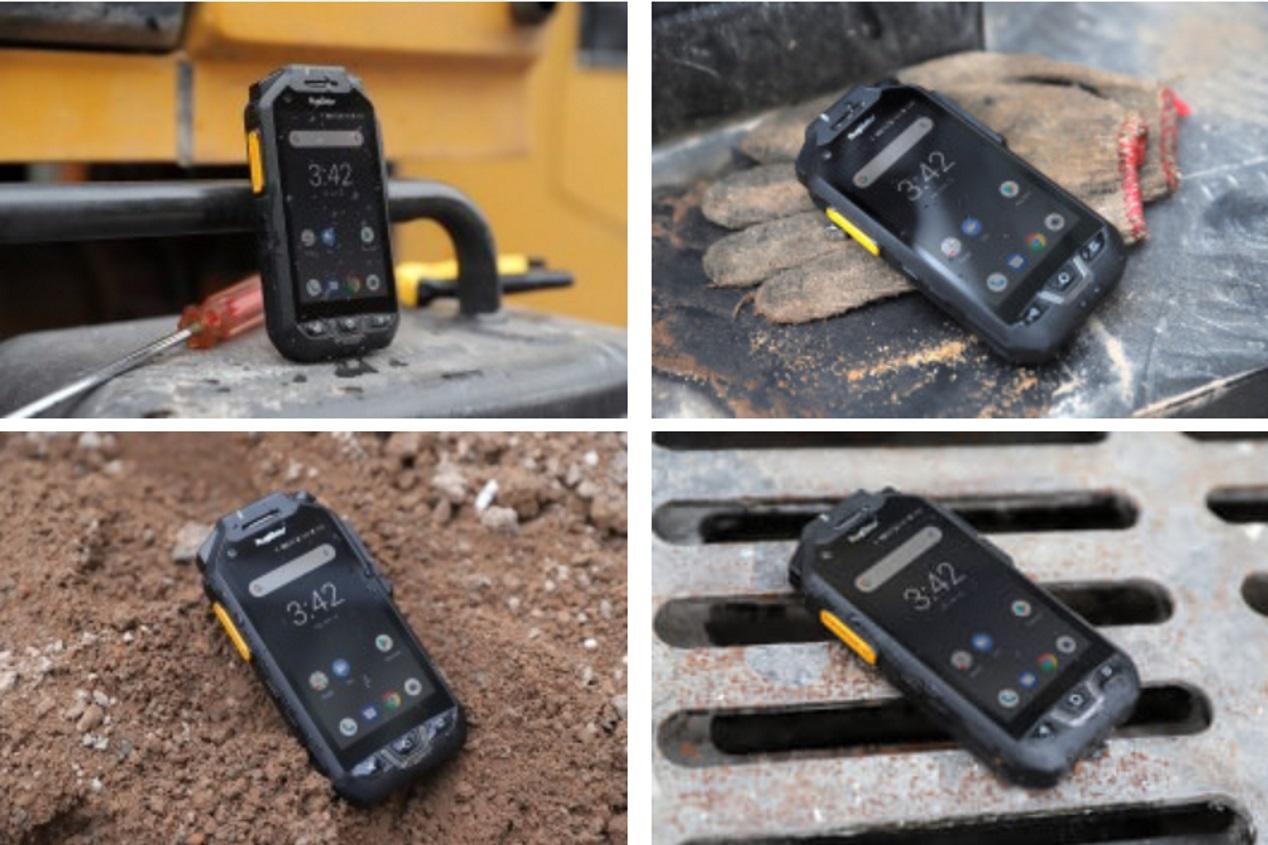 RugGear RG725 zorgt voor snelle communicatie in extreme situaties