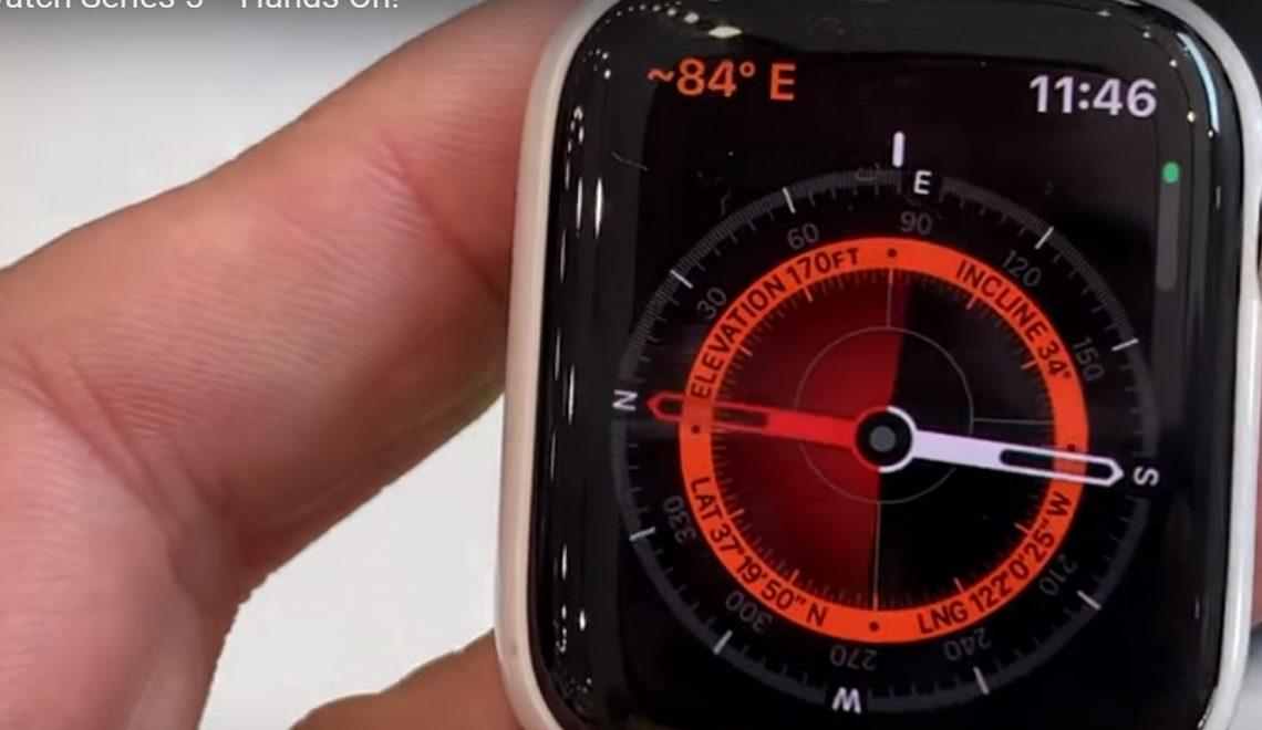 Yes! De nieuwe Apple Watch Series 5 is beschikbaar