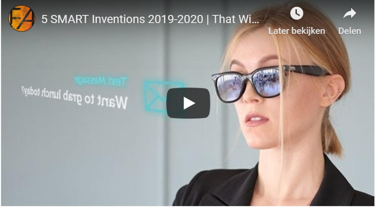 5 nieuwe gadgets die in 2020 heel normaal worden.
